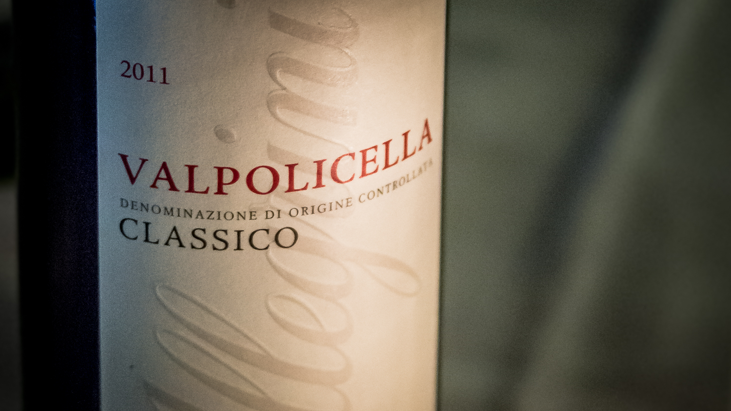 Valpolicella is from the Veneto, which is the same region in which Venice is located