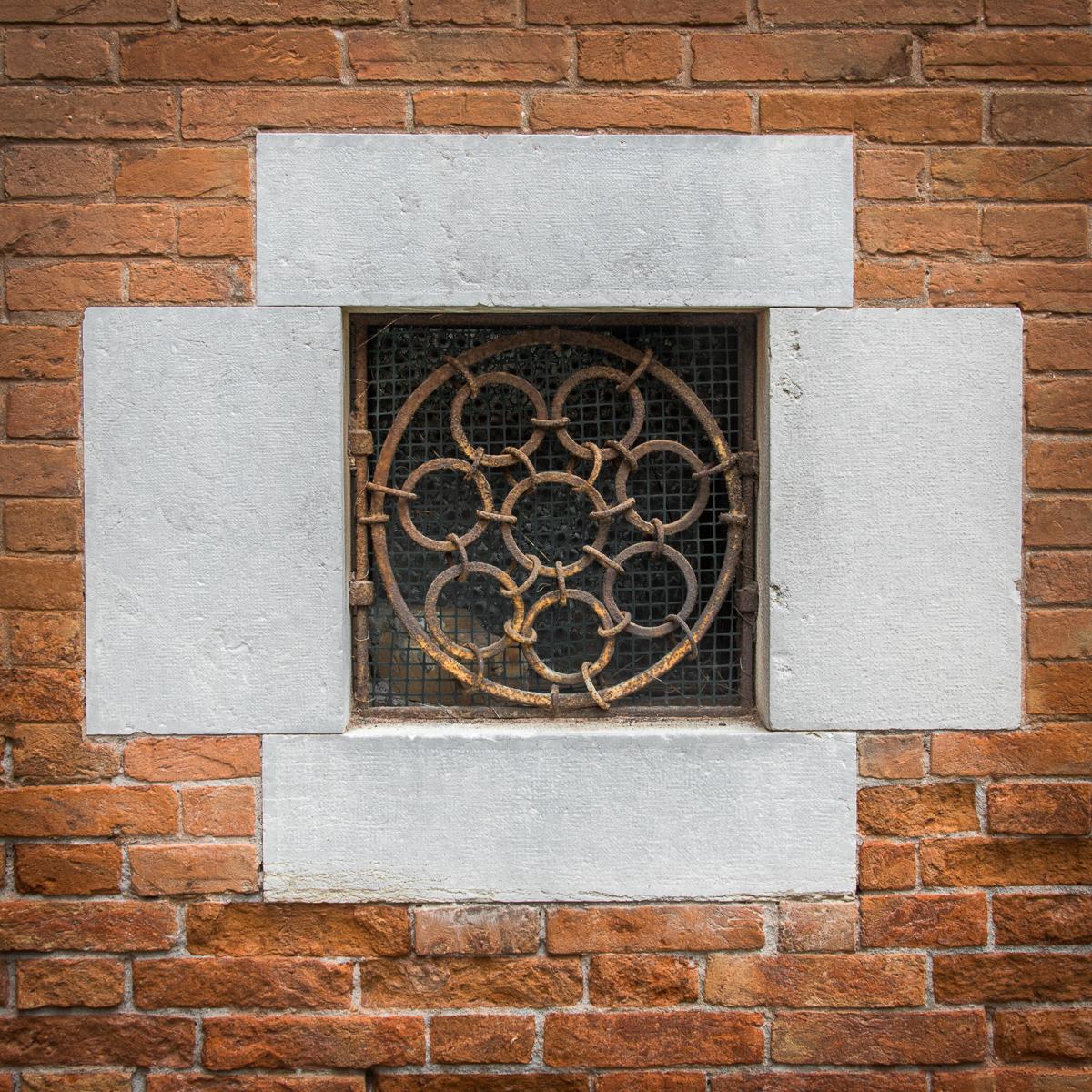 Simple stone window surround