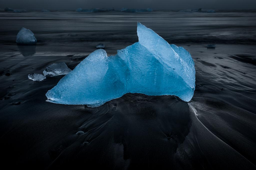 Blue Ice, Black Sand