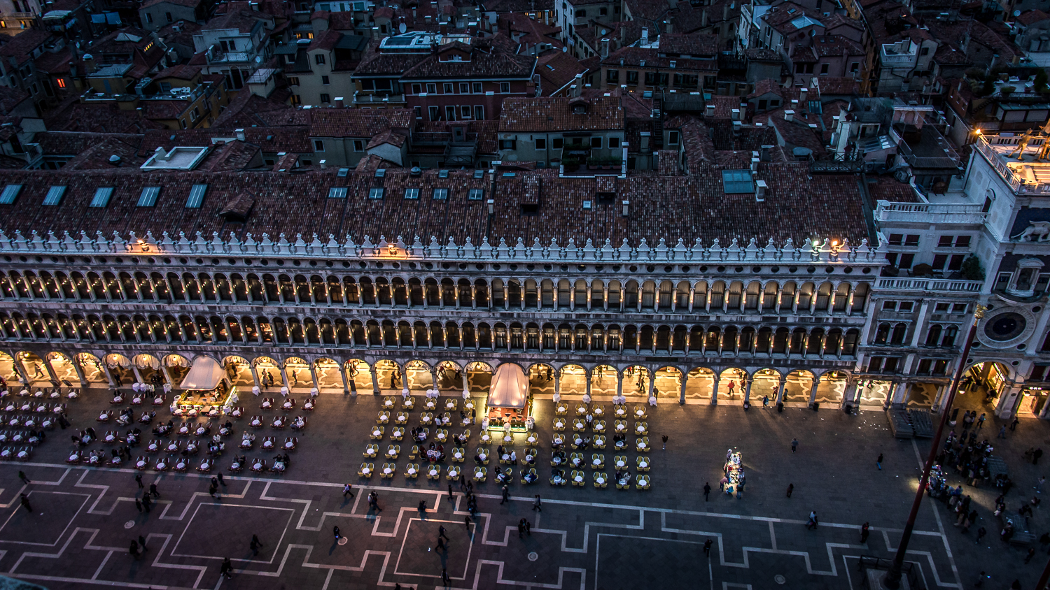 North side of the Piazza San Marco