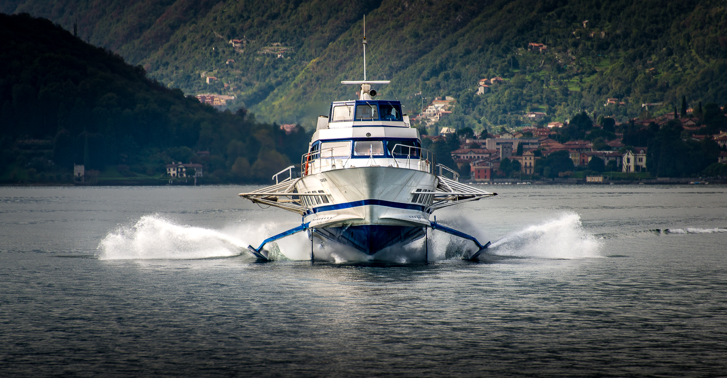 The 'Speed Service' of the hydrofoil