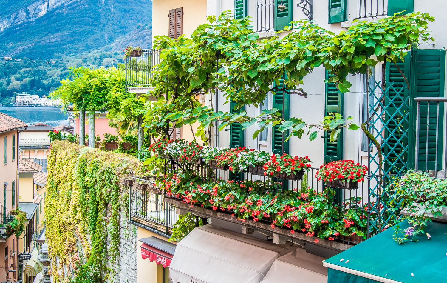 Beautiful, lush, lakeside Bellagio