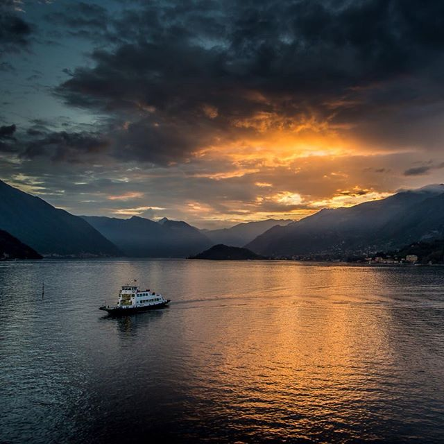 My blog article this week is about traveling Lake Como to Bellagio on the 'slow boat'. Check it out on my website. #italyouritaly #italy #lakecomo #lagodicomo #slowboat #bellagio