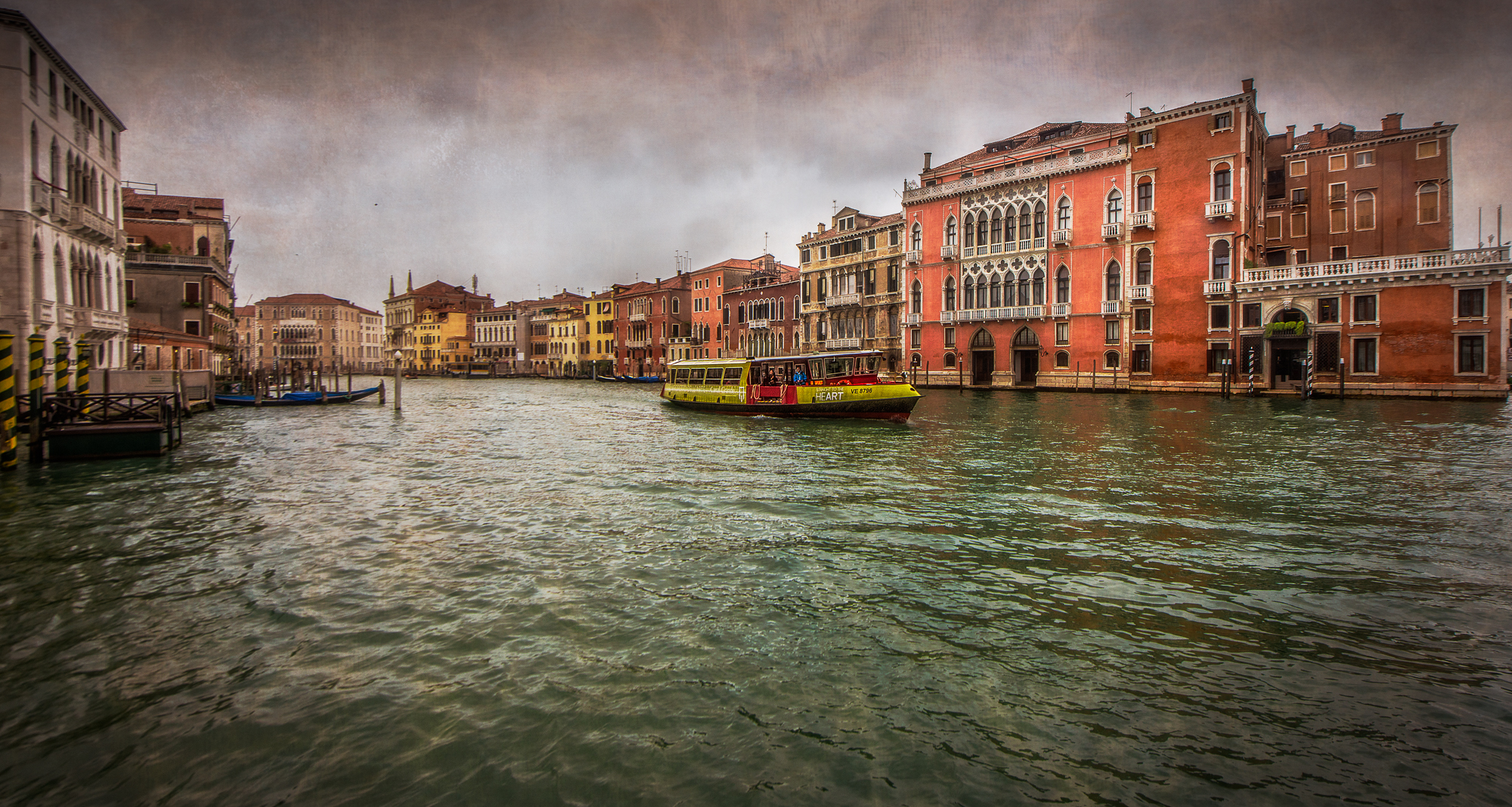 A portion of San Polo, across the Grand Canal from San Marco