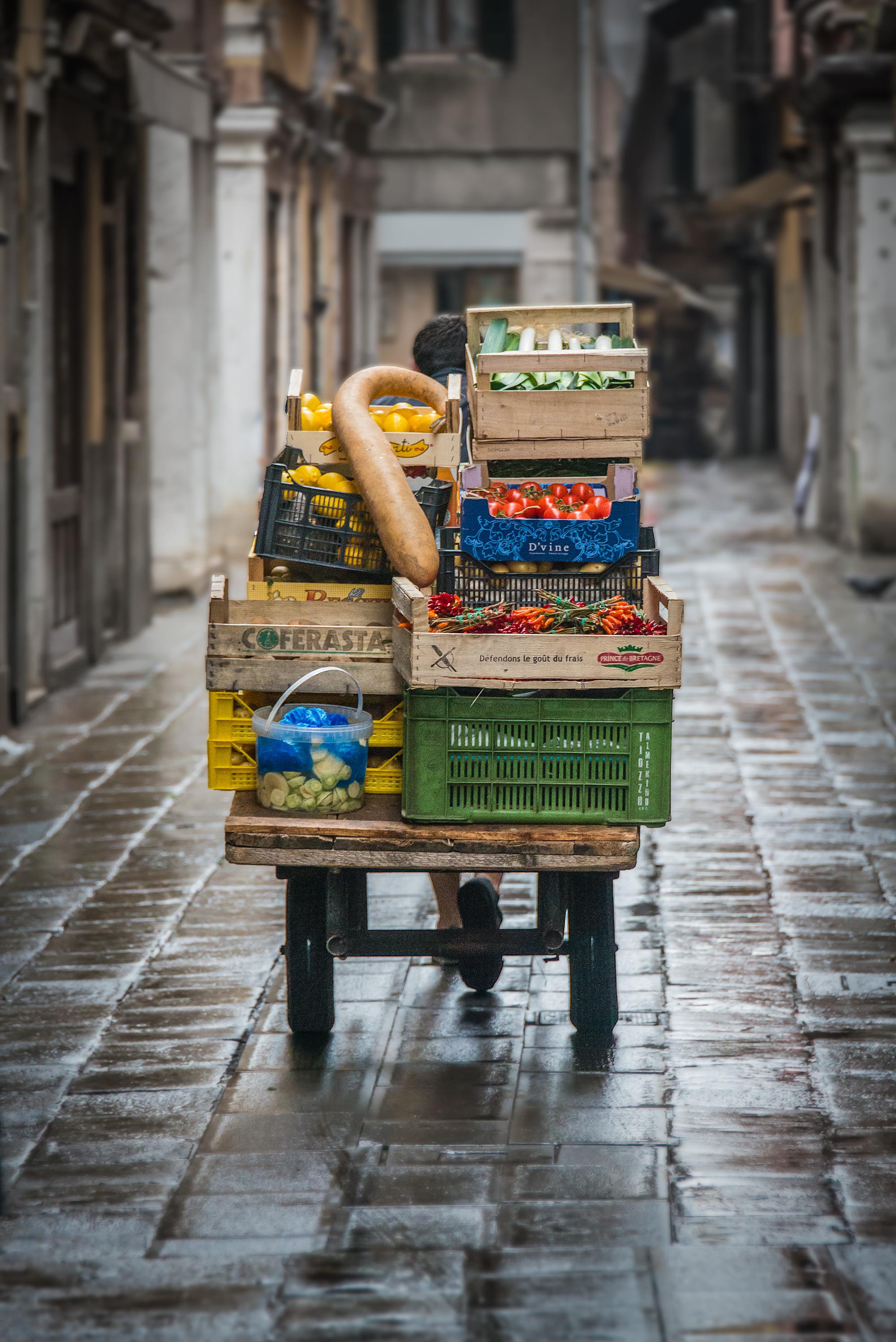 On the way to Rialto Market