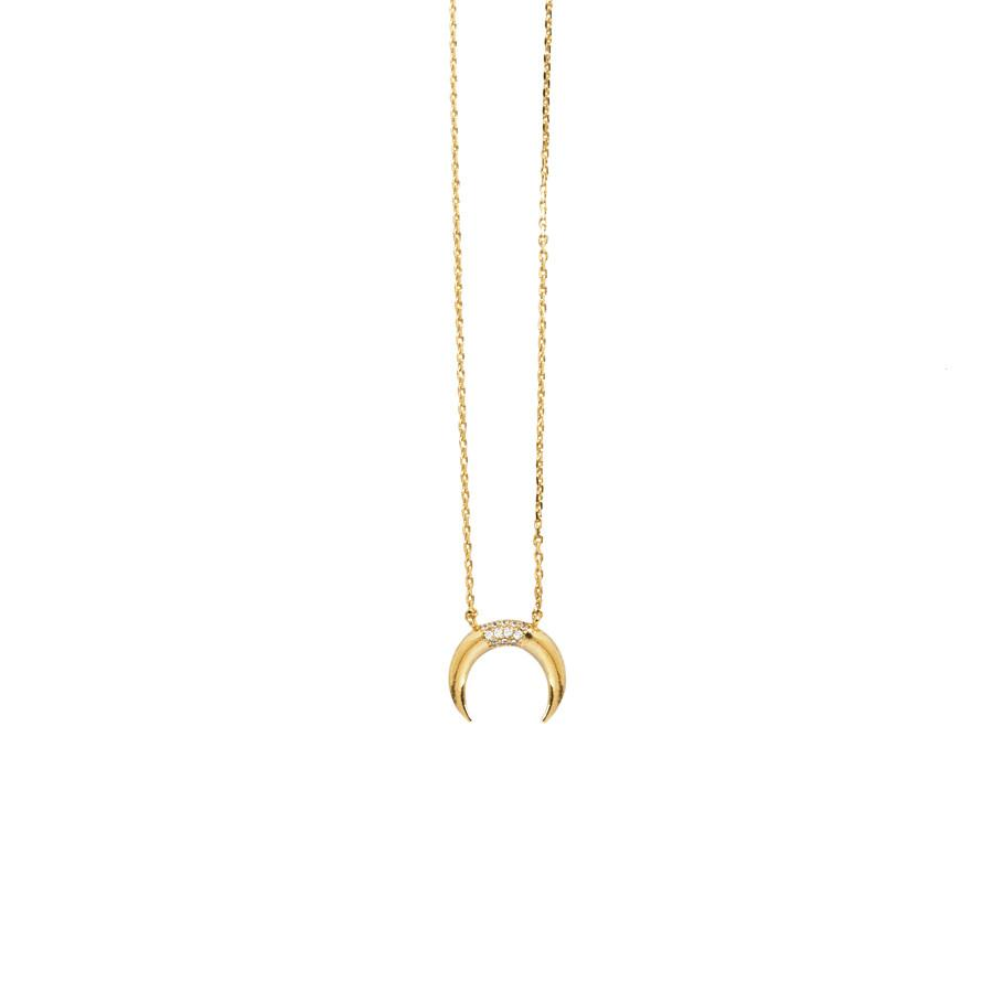Luna Pave Necklace