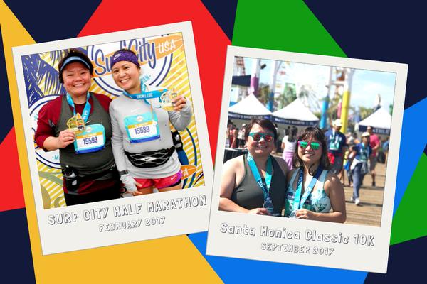 Miguez & KD at Marathons