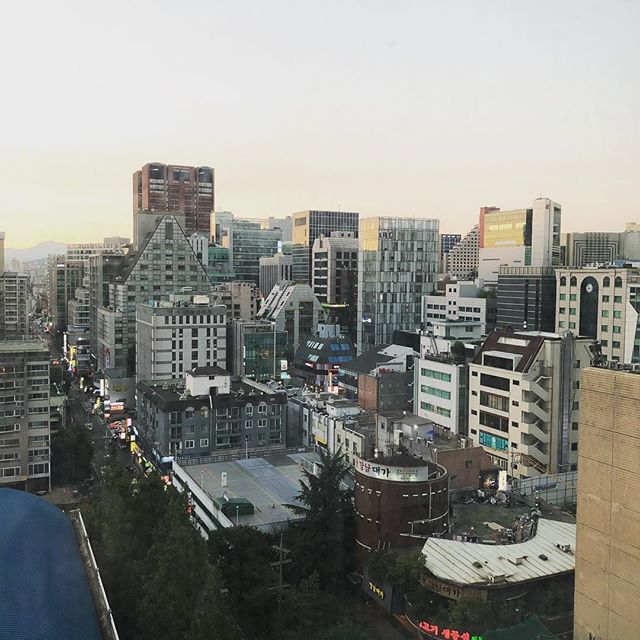 Seoul looking pretty good right now.