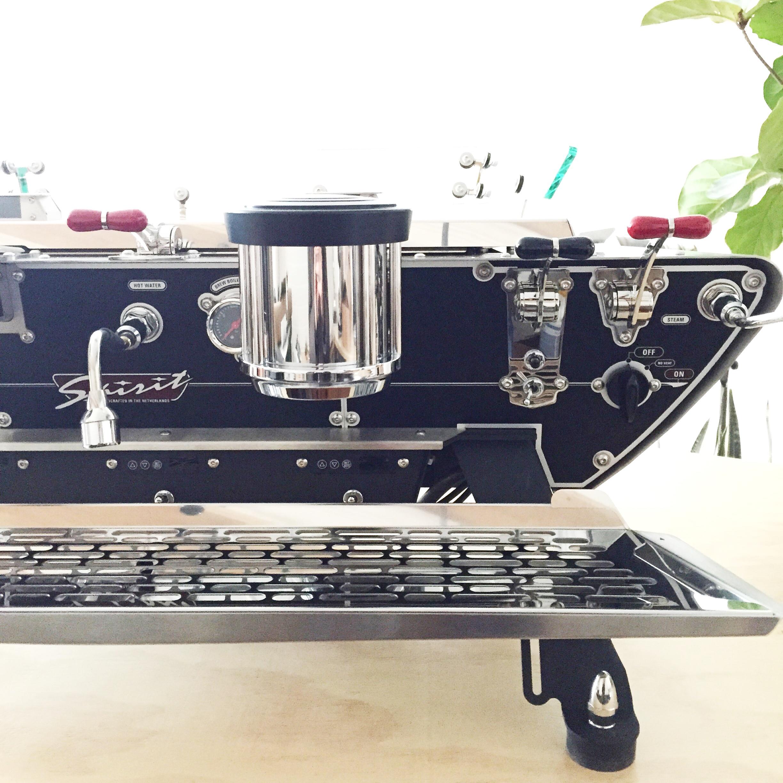 Spirit espresso machine at 4121 Main, Pittsburgh