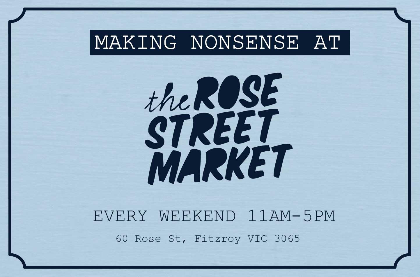Rose St. Market