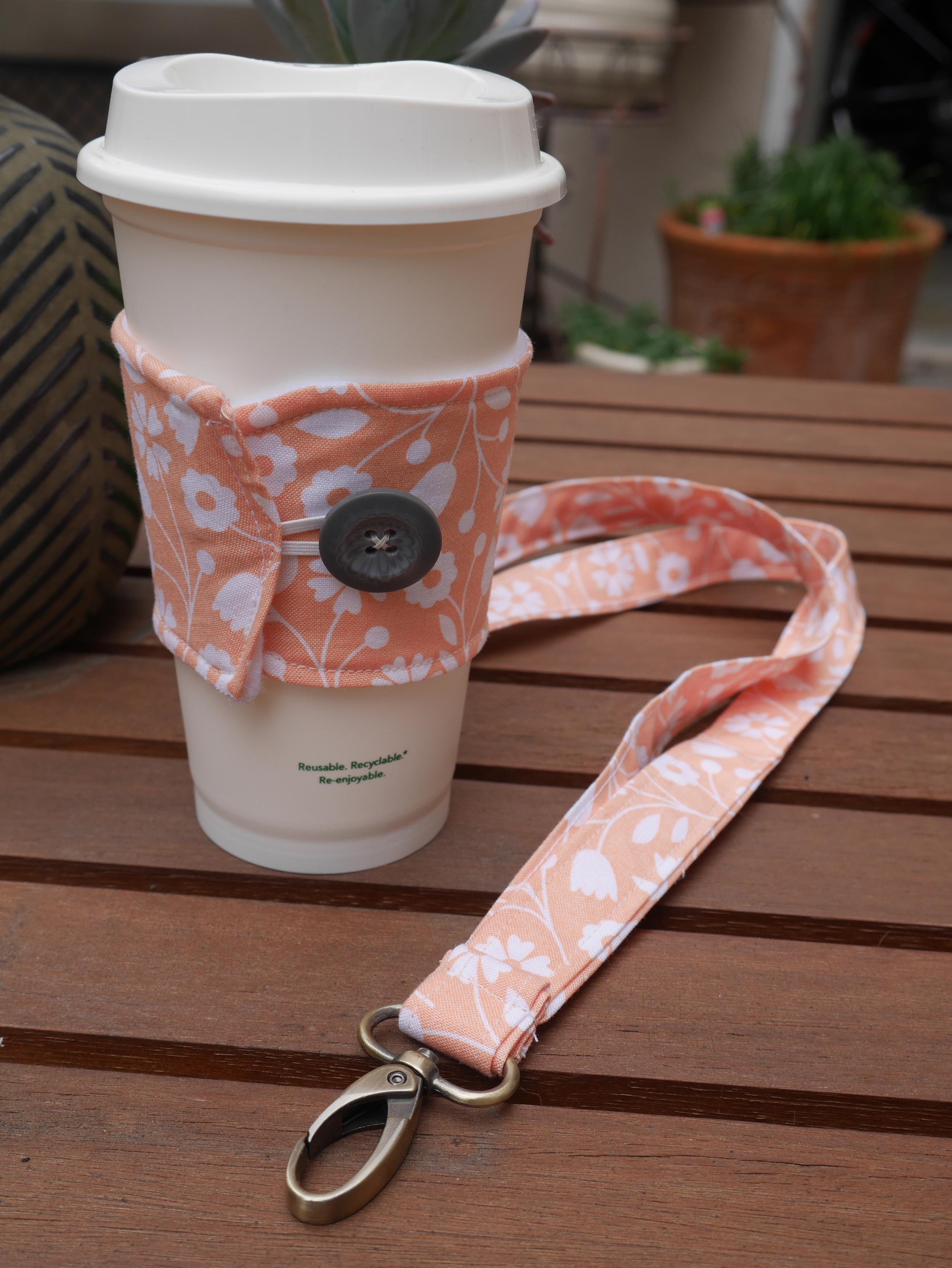 Lanyard and Coffee Koozie, a gift for a teacher friend