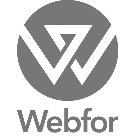 Webfor Logo BW.png