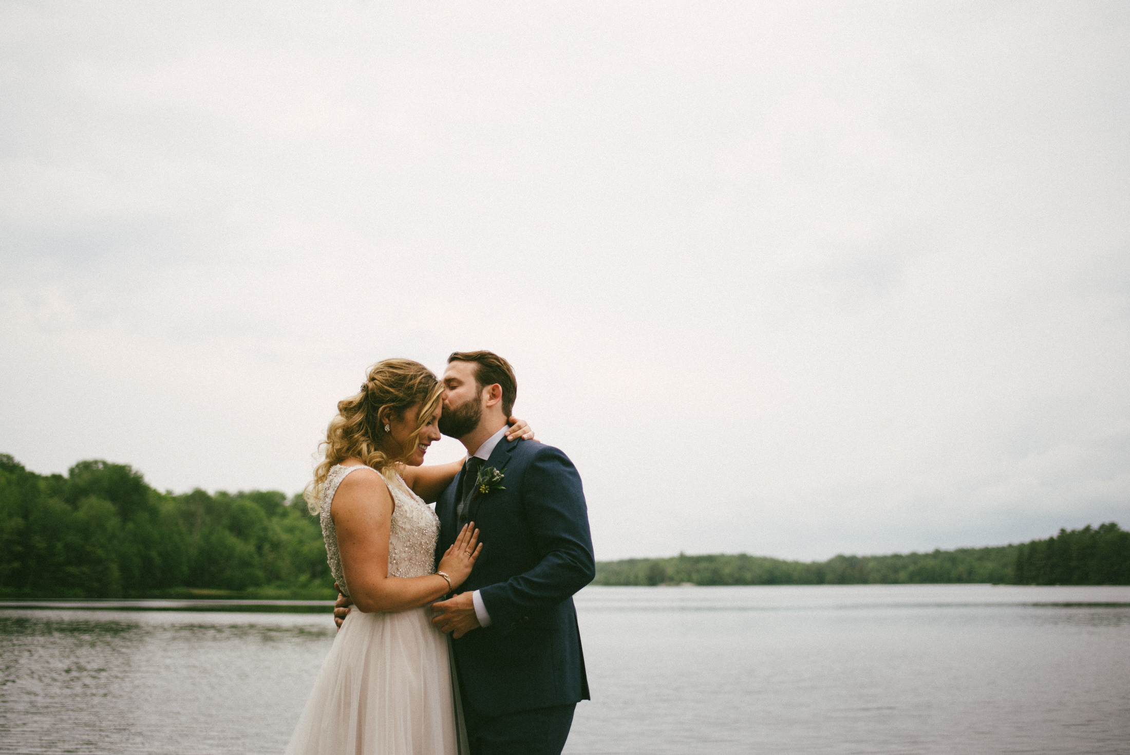 Bark Lake Haliburton Wedding - by Megan Ewing