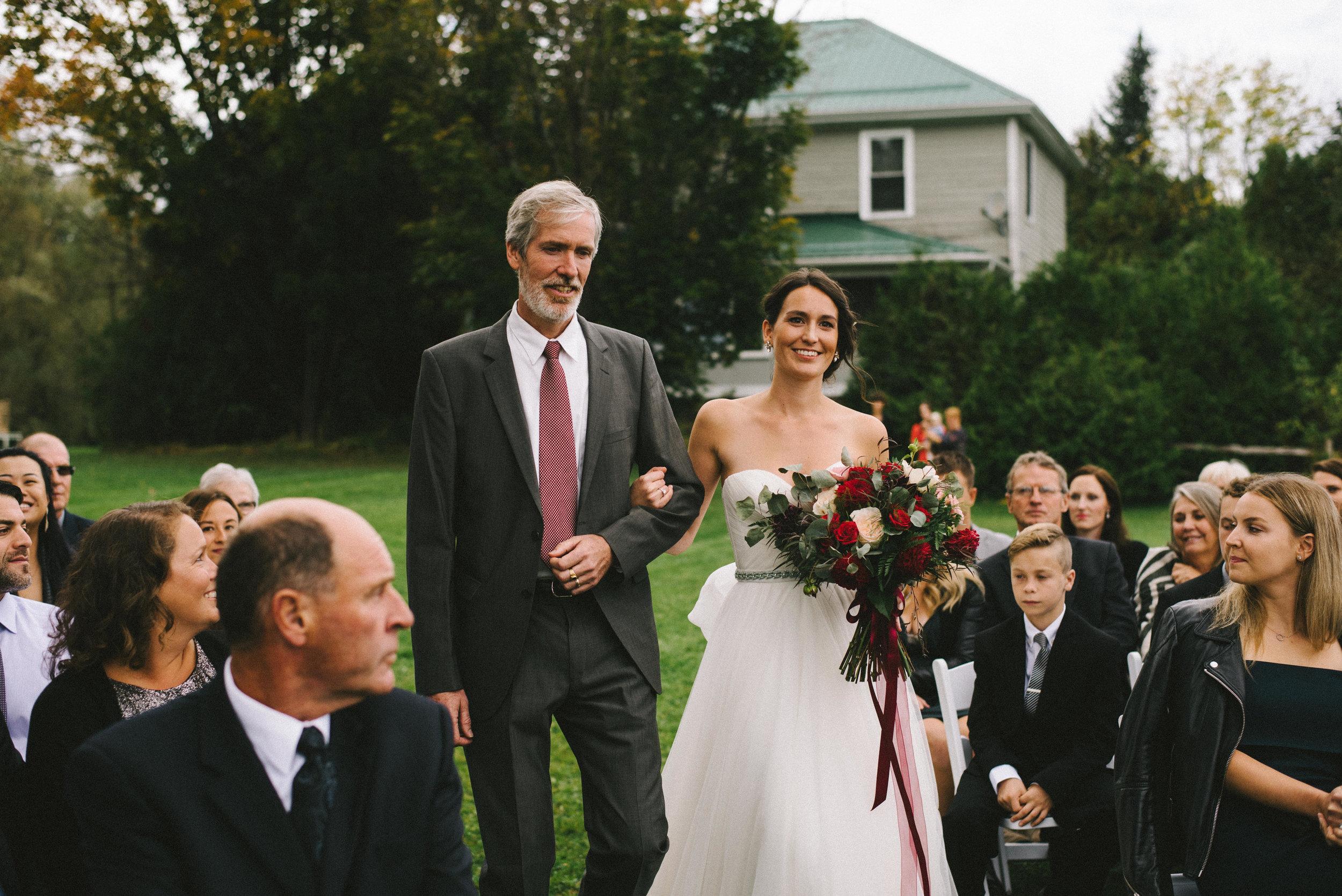 Brooklands Farm Wedding, Muskoka Ontario
