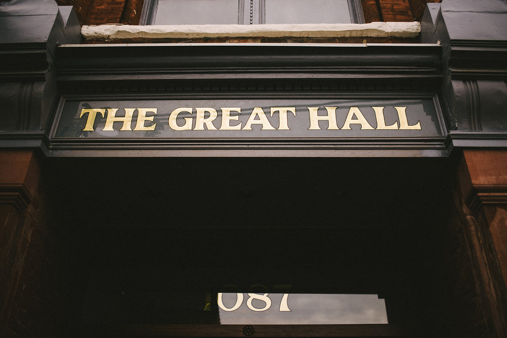 The Great Hall Urban Toronto Wedding Photographer