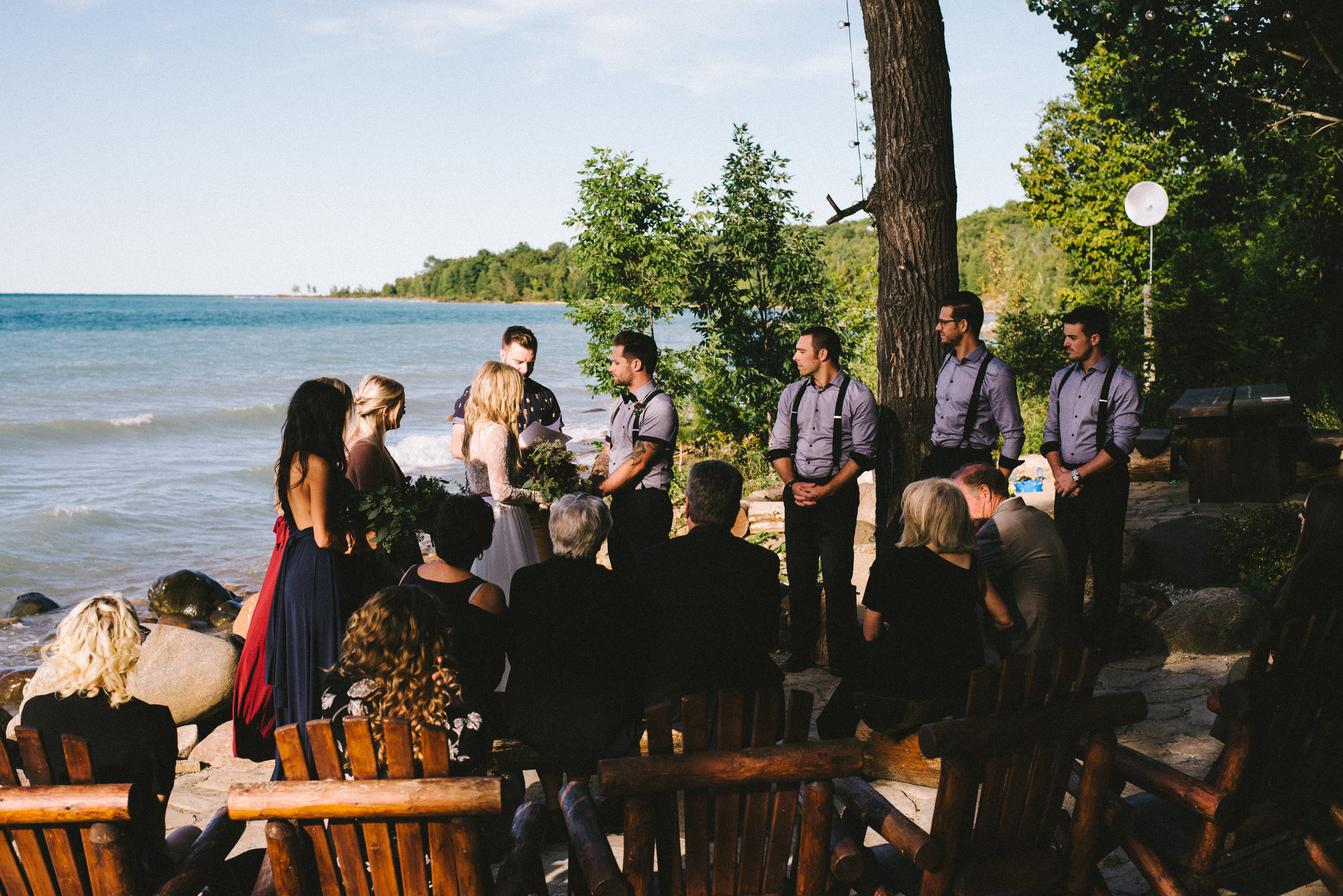 Serenity Cottage Owen Sound Wedding Photographer