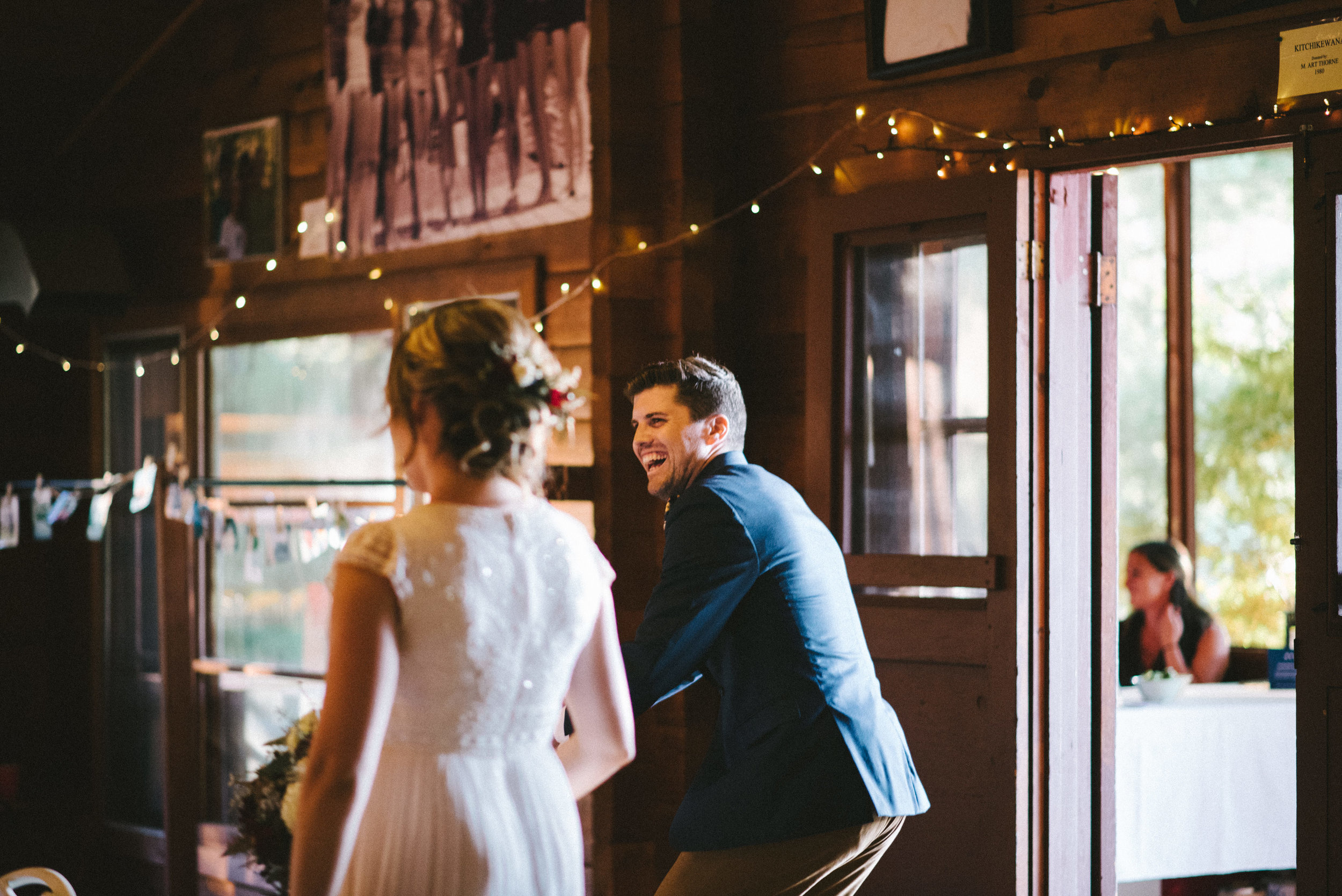 Camp Tapawingo Parry Sound Wedding Photographer