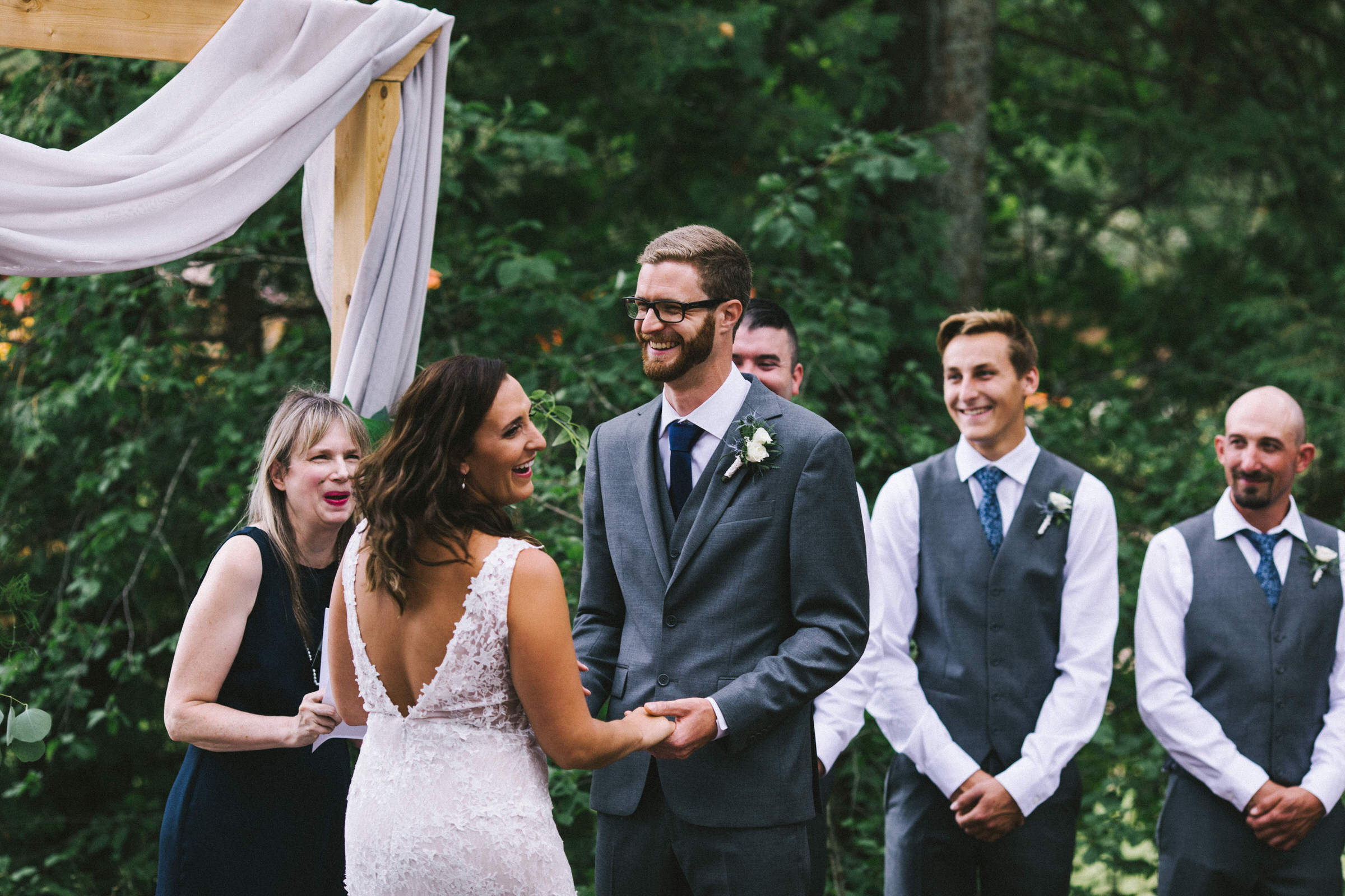 Bark Lake Wedding Photographer