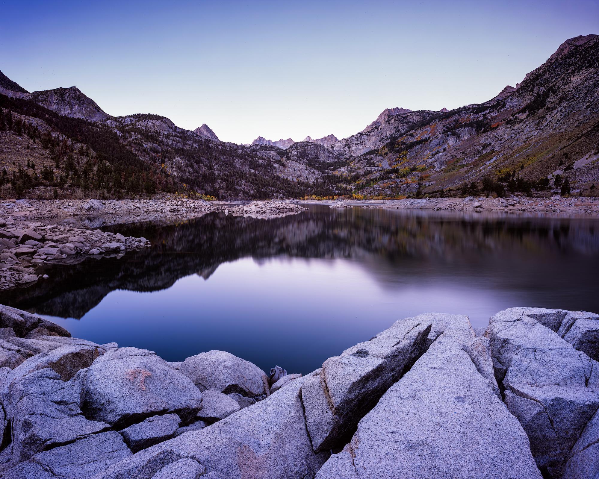Lake Sabrina Autumn