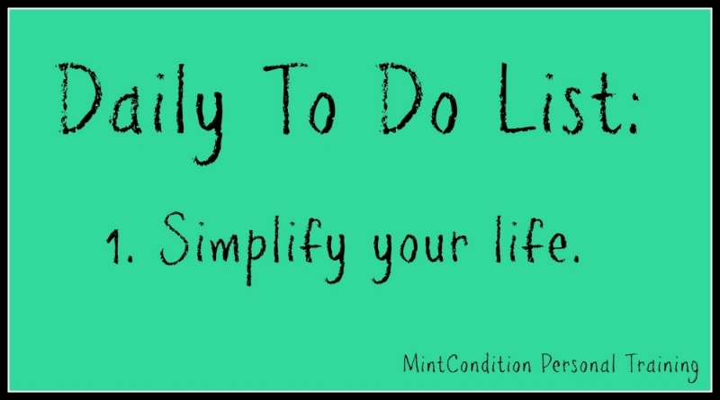 Daily To Do - Simplfy
