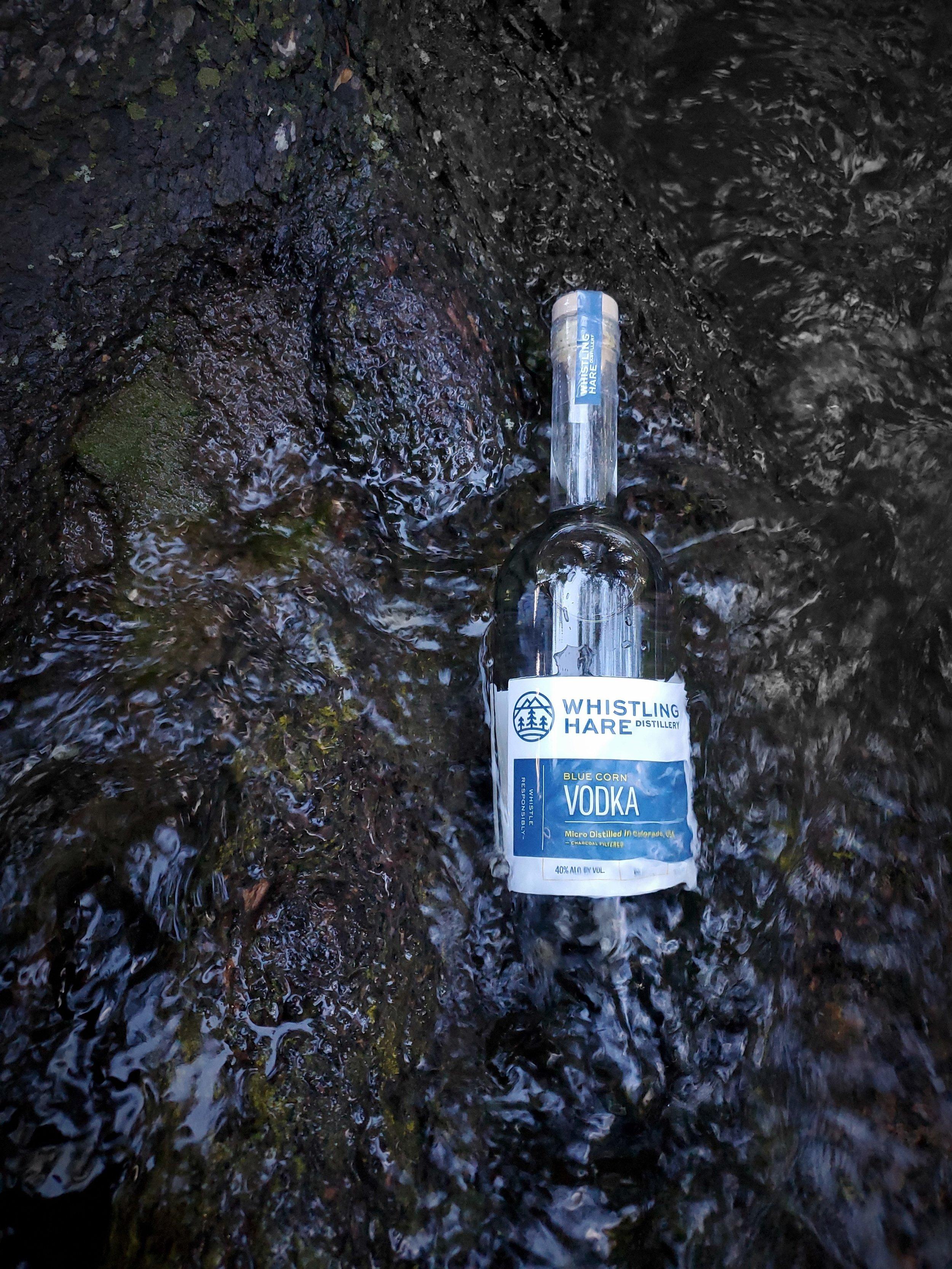 Blue Corn Vodka