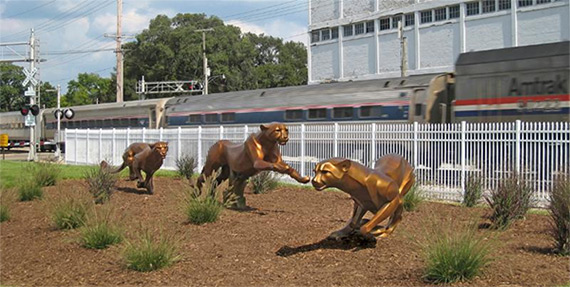 Cheetahs on the Run_Amtrak Station Dowagiac_Michigan.jpg