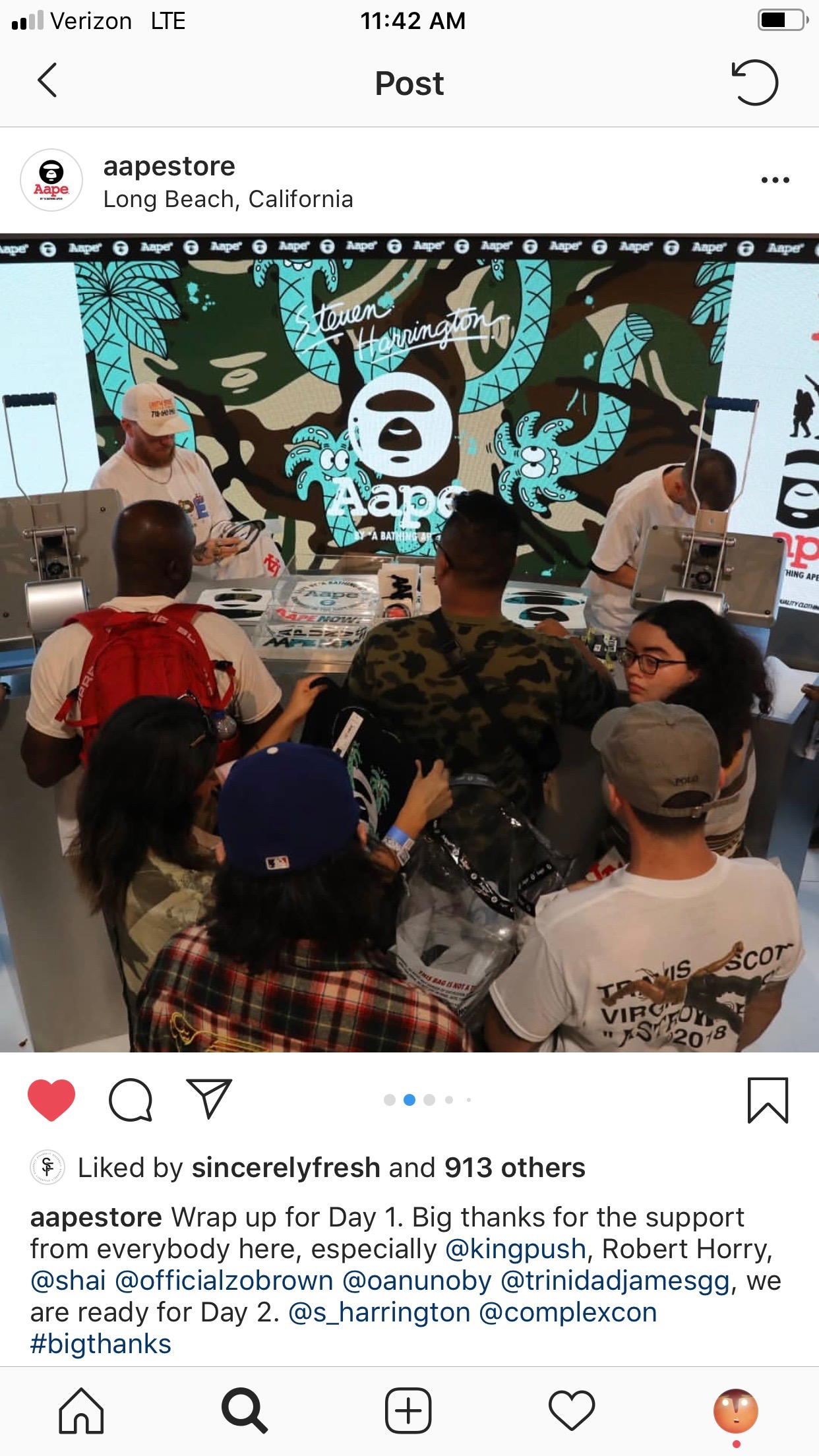 AAPE BOOTH - DAY 1 COMPLEX CON