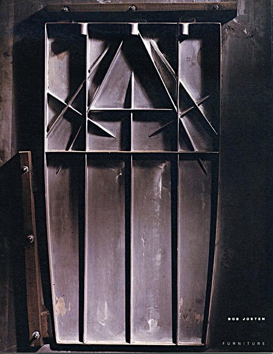 catalog cover for furniture designer Bob Josten