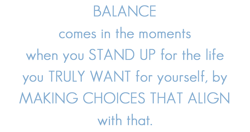balance - one little word 2014 ==> tracy-larsen.com/blog