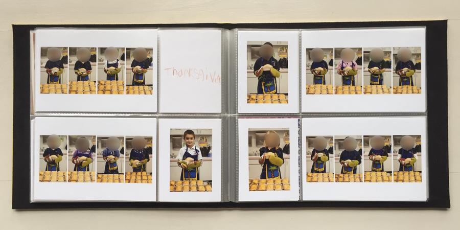Teacher's memory photo book - Project Life mini album - teacher gift => hellotracylarsen.com
