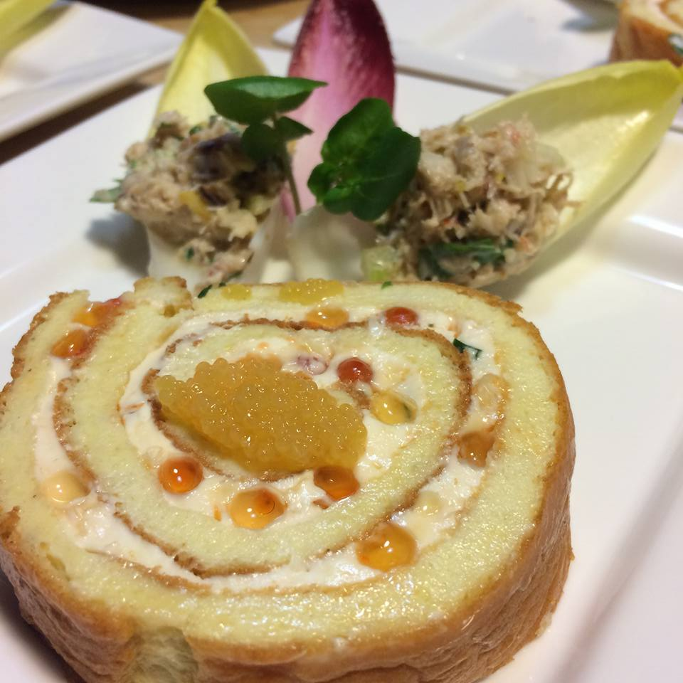 An appetizer from the 2017 Wine and Food Pairing hosted by the Grabers