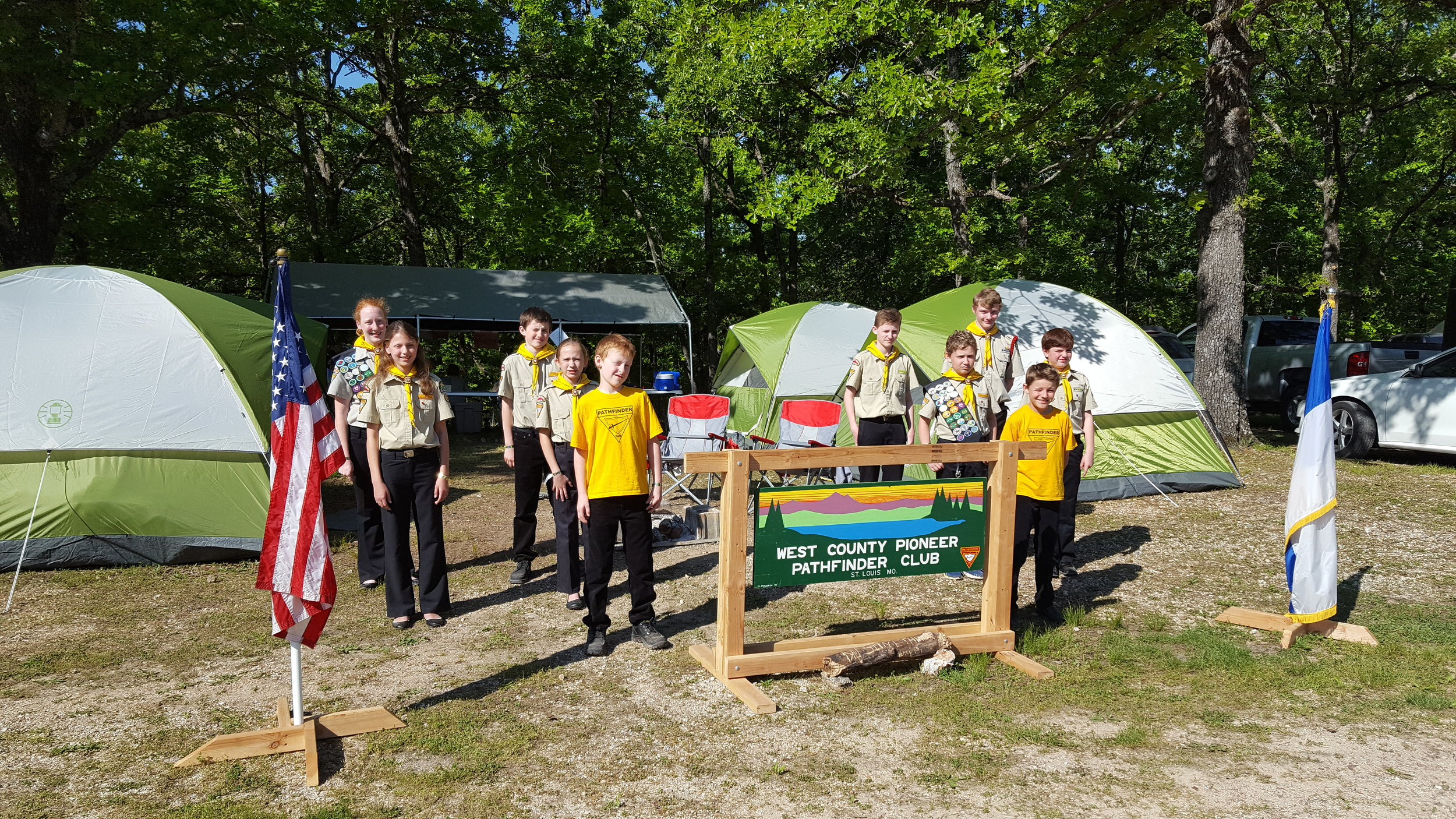 Spring Camporee - Camp Heritage