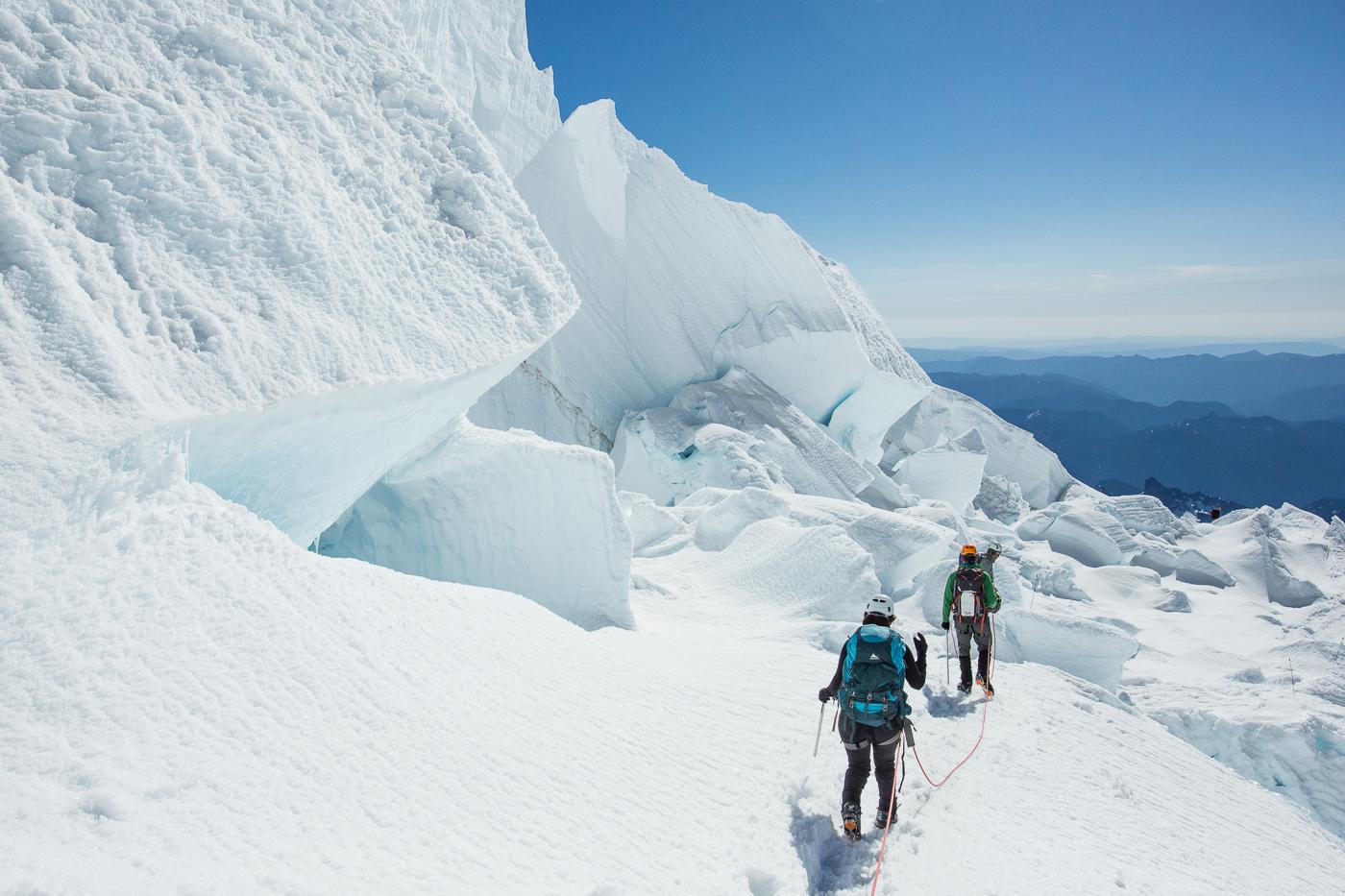 Crossing the Glaciers