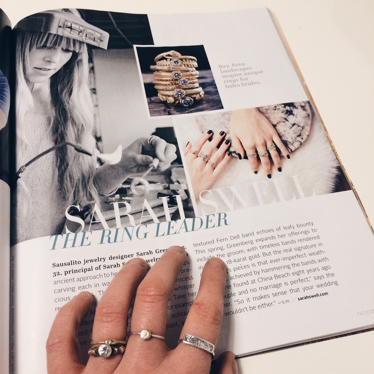 7 X 7 Magazine Feature