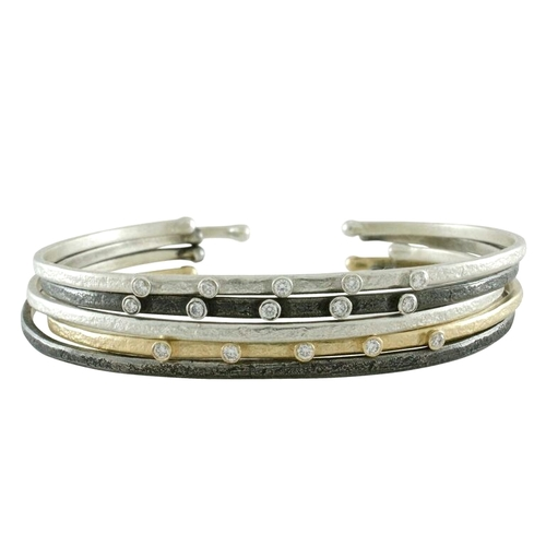 Weathered Stacking Cuffs