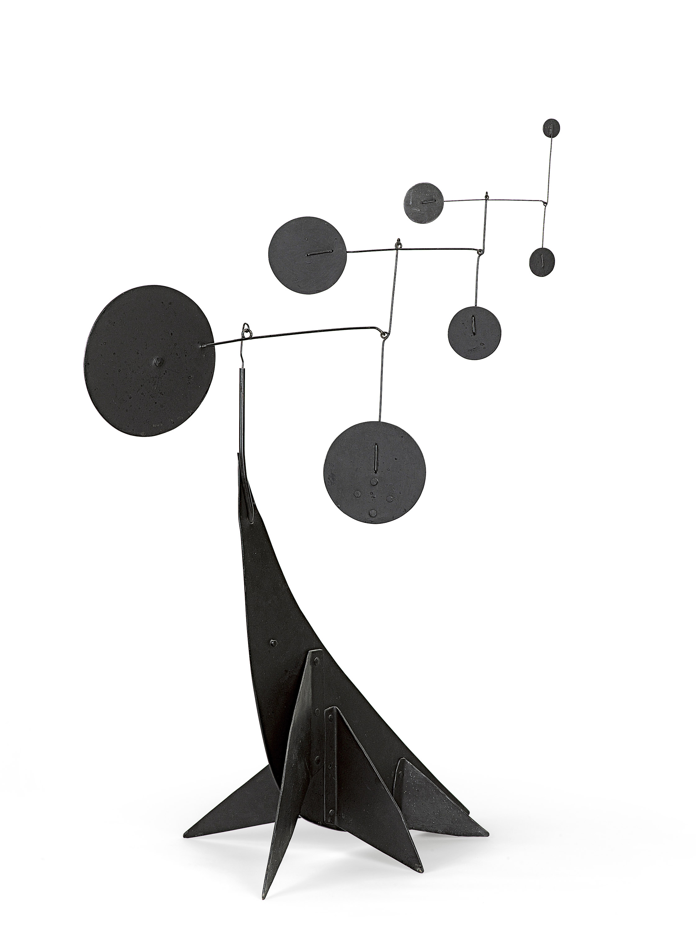 Performing Seal 1950 by Alexander Calder. Images via NGV
