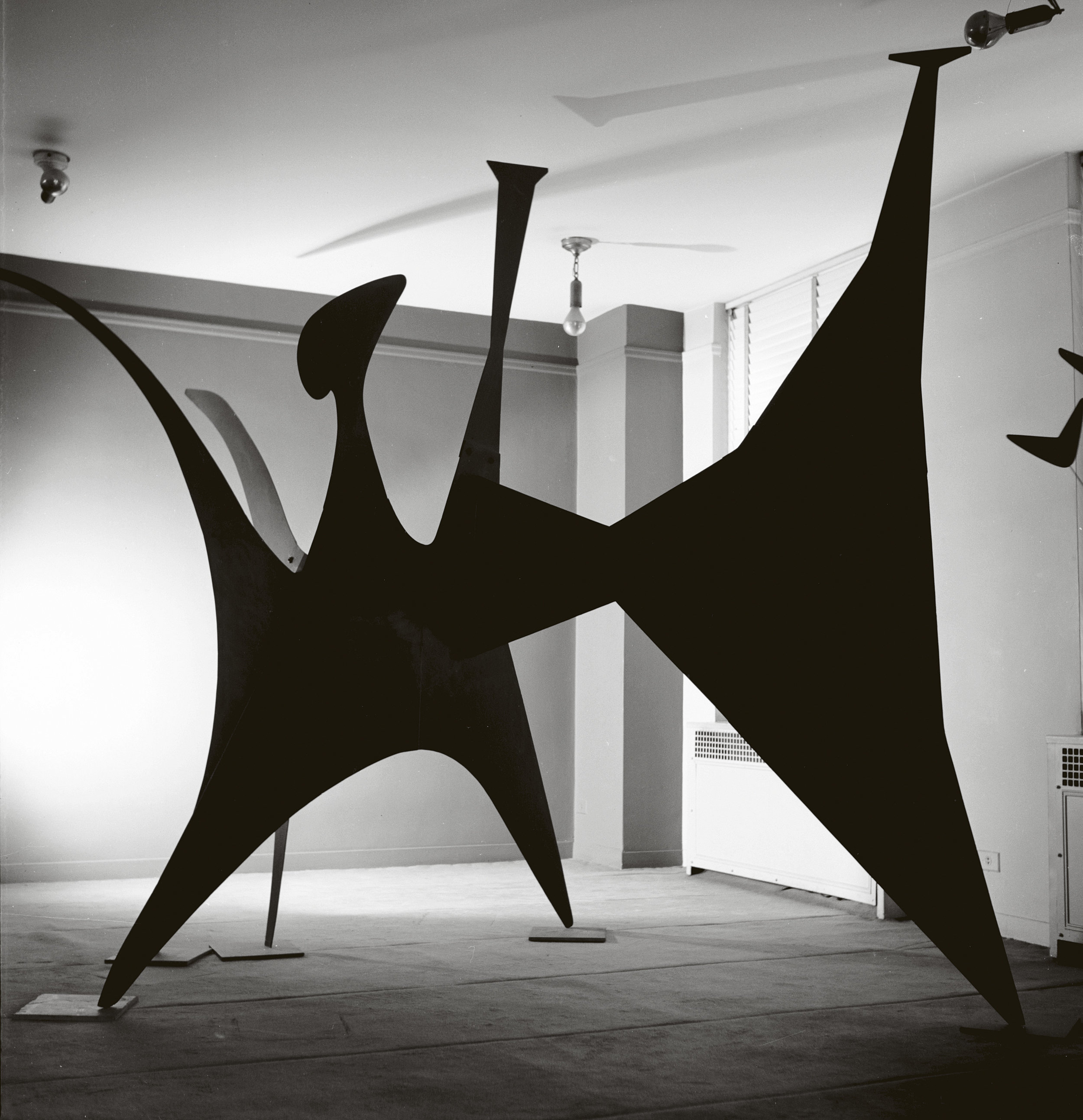 Black Beast 1940 by Alexander Calder. Images via NGV
