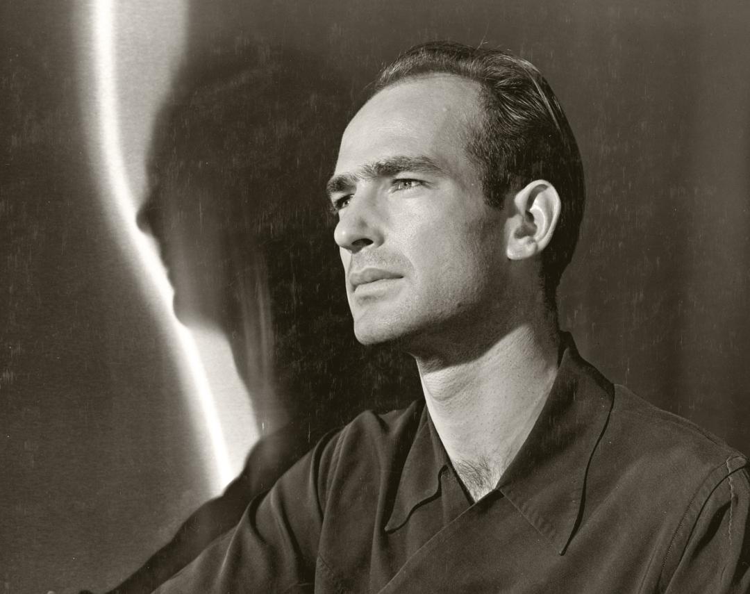 Harry Bertoia photographed by Joe Munroe, 1942