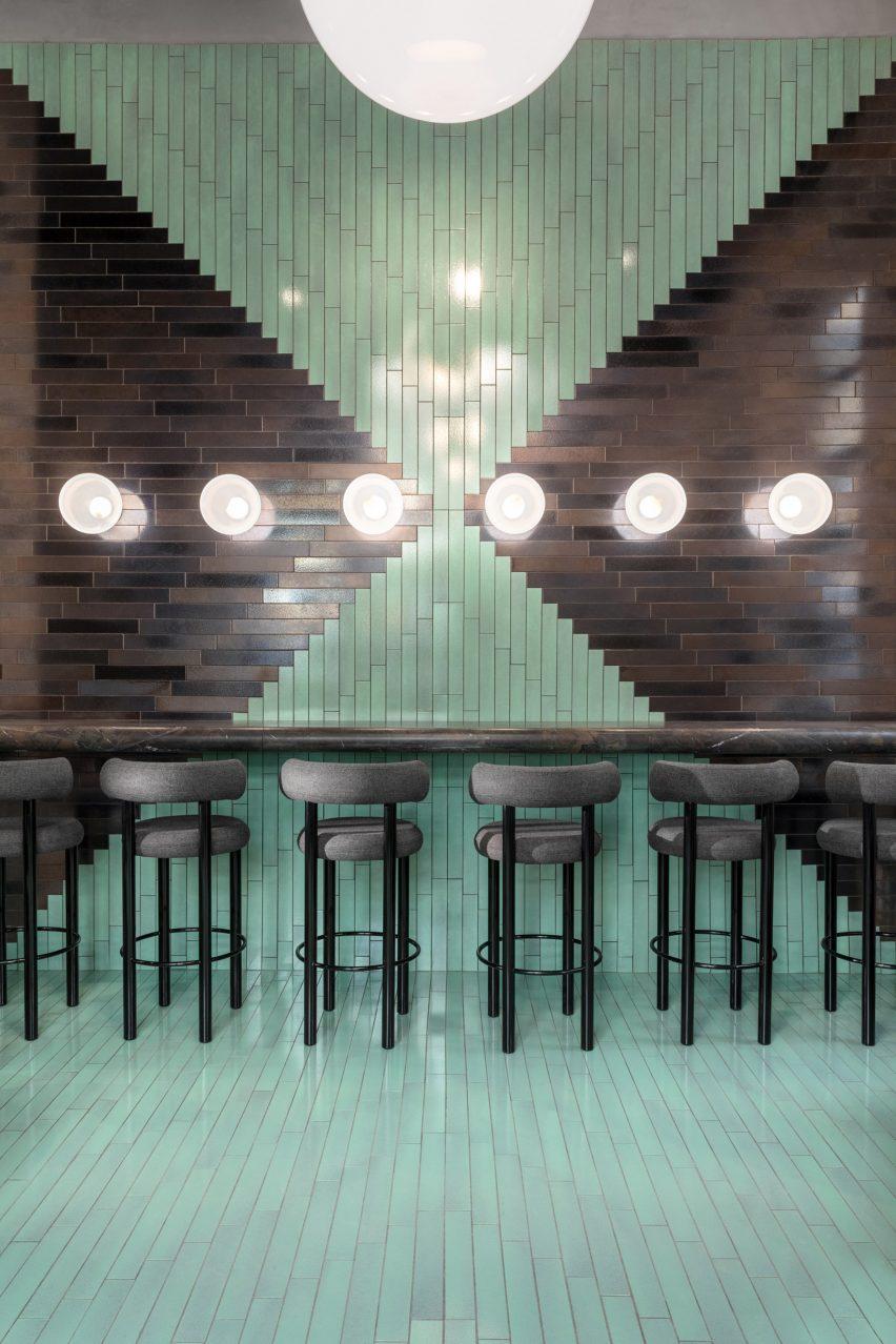 The Manzoni bar and lounge. Image via tomdixon.net