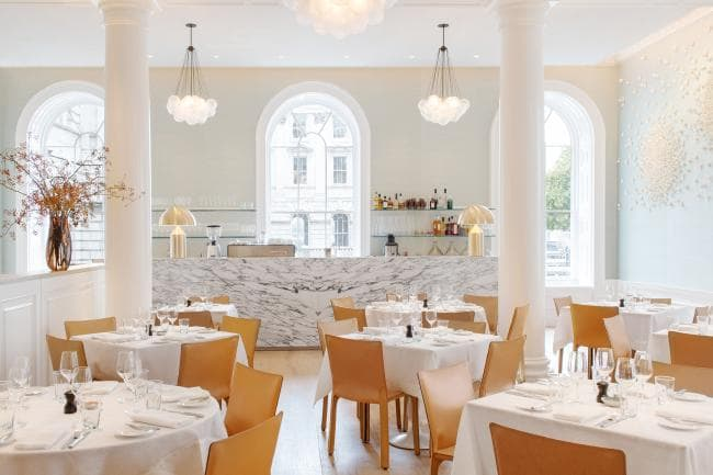 Spring Restaurant in the new wing of the Iconic Somerset House