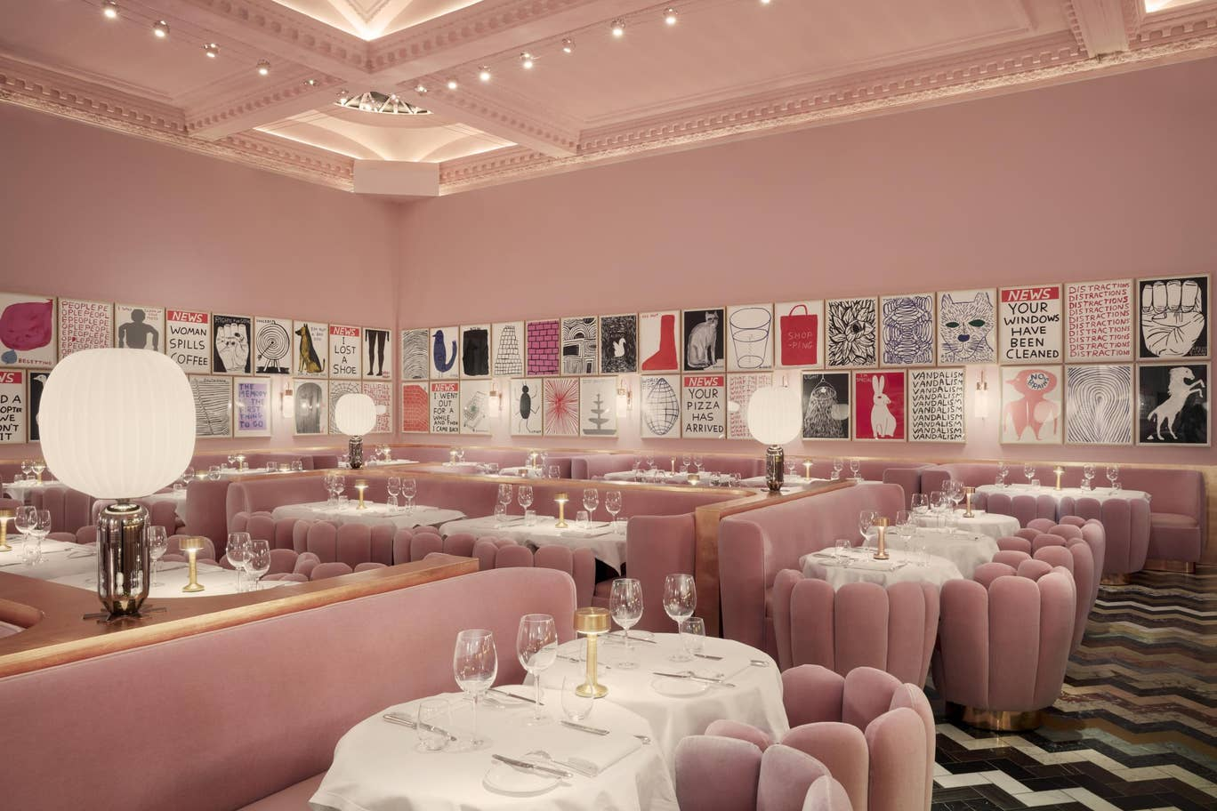 Sketch, The Gallery by one of our favourite designers India Mahdavi