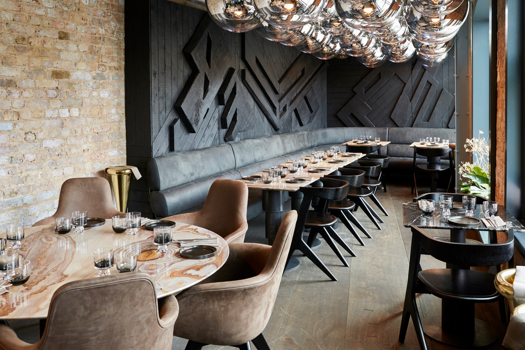 Coal Office Restaurant,, by the one and only Tom Dixon