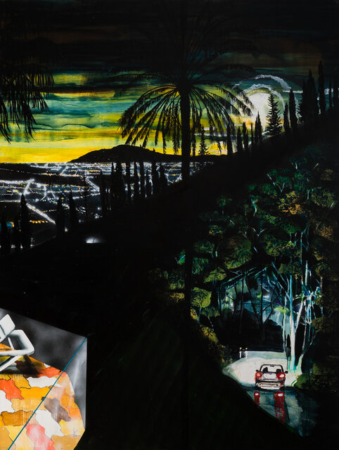 William Mackinnon,  On the edge where it happens, 2019  Jan Murphy Gallery