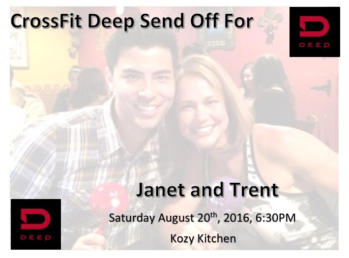Join us as we support and send off our teammate Janet (and Trent) this weekend, as they prepare to embark on a once-in-a-lifetime mission trip to Jordan.