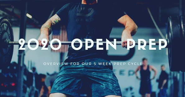 The 2020 Open is fast approach and the staff at Deep have an awesome five week prep cycle full of fun workouts, helpful progressions, and more to get you as ready as possible.  Each year we participate in the open as a community. We've found that like most things in life, having a goal with a specific deadline promotes improvement and increases the chance of success. Think of the open as a fun way to continually retest your fitness each year. Will it be hard? Yes. Will you realize you may not have put in the necessary work to excel in every workout? Yes. Will you have fun and feel supported by your coaches, friends, and gym family? Absolutely. Will we be there for you to help you learn from each workout and help you improve and exceed new goals? Also absolutely.  I've been participating in the open every single year and it is always a mixture of excitement and anxiety. The uncertainty of what the workout will be, the lead up to my heat, knowing others are watching me, the burn of pushing harder than I usually do during training, the frustration of not doing as well I thought I could do. All of these things are uncomfortable for me. Not just uncomfortable from a physical standpoint, but mental as well. But guess what? Avoiding the uncomfortable things in life never got anyone anywhere.  As a community, we are here to help each other through being uncomfortable, so we can enjoy the feelings that come from pushing through obstacles that challenge us.  The next five week cycle is meant to prepare you as best as we can for success in the open. We will be testing how you handle high skilled movements under fatigue, how long you can go unbroken when muscle burn really hits hard, how you handle heavier weights with a high heart rate and breathing pattern, and much more.  More news will be coming soon on what we have planned for the first open ever held in October!  See you in the gym  #2020open #goals #teamdeep #crossfit
