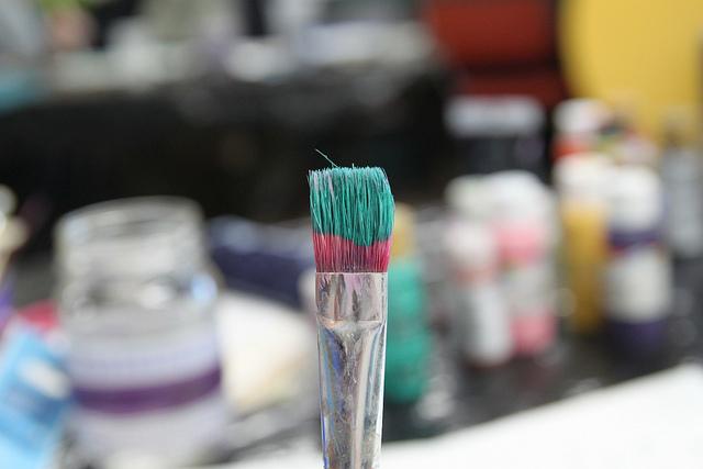 paint brush be present retreats