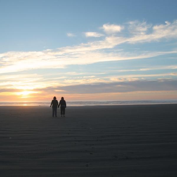 kindreds on beach
