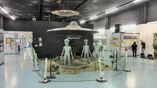 Roswell Space Museum     —    184 MIles from Las Cruces