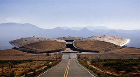 Spaceport America     —    55 Miles from Las Cruces