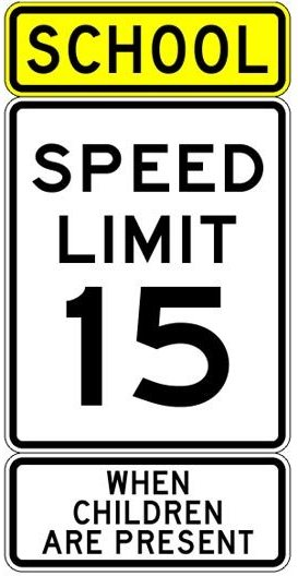 speed limit  reduction